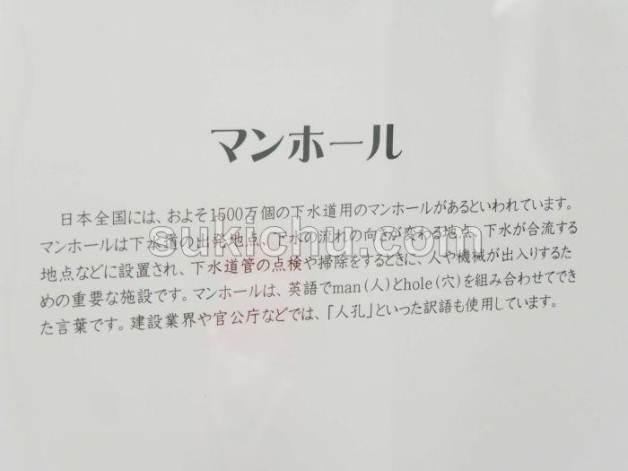茨城県マンホール蓋展掲示物