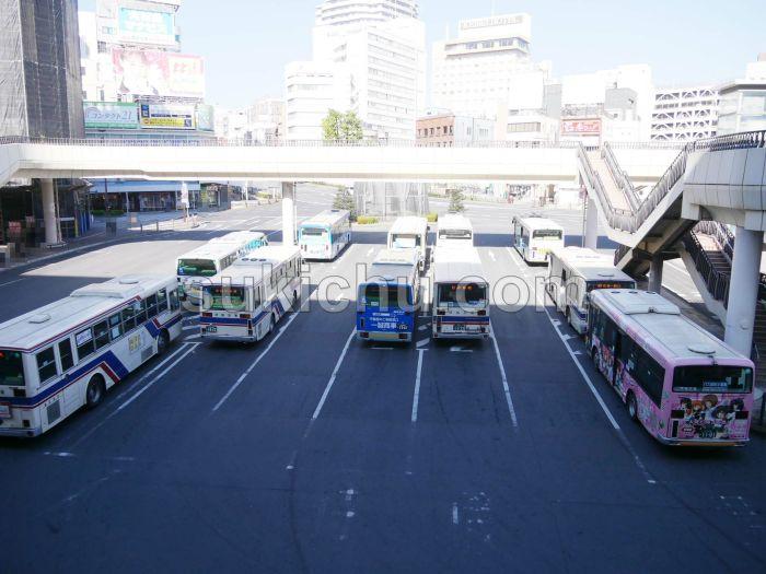 水戸駅北口バスターミナル