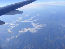 Up over the Australian Alps
