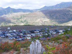 Car park, Johnson's Ridge
