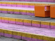 Painted steps, Perth