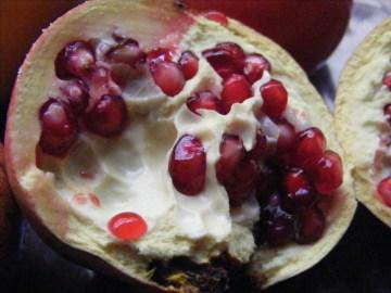 pomegranite seeds