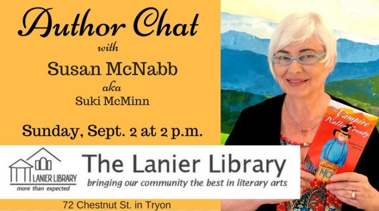 susan mcnabb suki mcminn author chat poster lanier