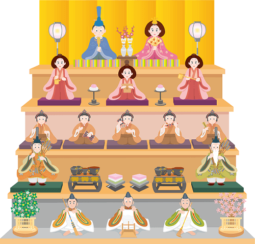 How to set Hina dolls up
