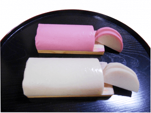 Kamaboko(Boiled fish paste)
