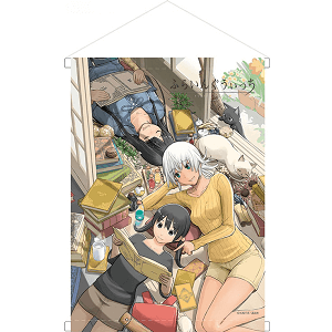 Flying Witch Wall Scroll