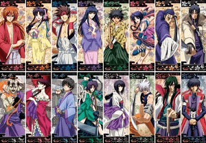 Rurouni Kenshin Chara Pos Collection BOX