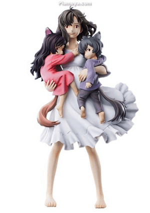 wolf children Figure Anime