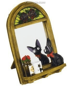 Kiki's Delivery Service Jiji Window Still Table Mirror