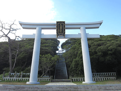 Ooaraiisosaki shrine