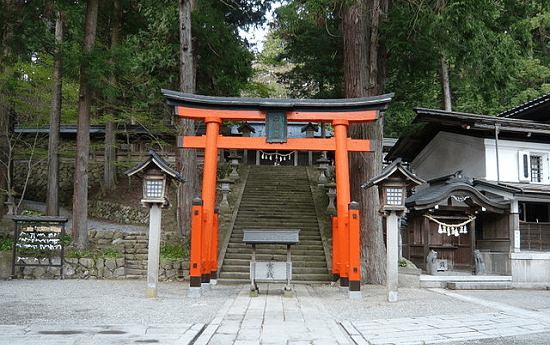 Hida Sanouguu Hie shrine(Your Name)