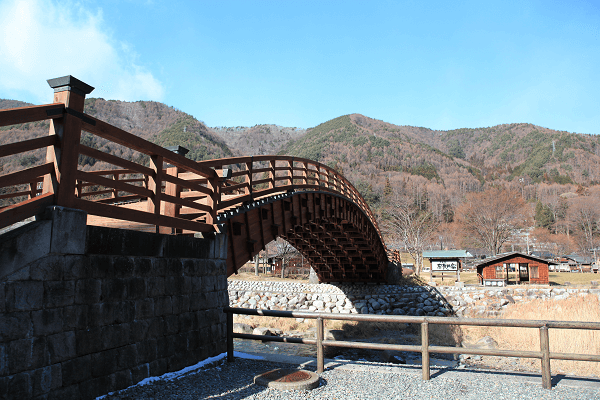Kiso Bridge in Nagano