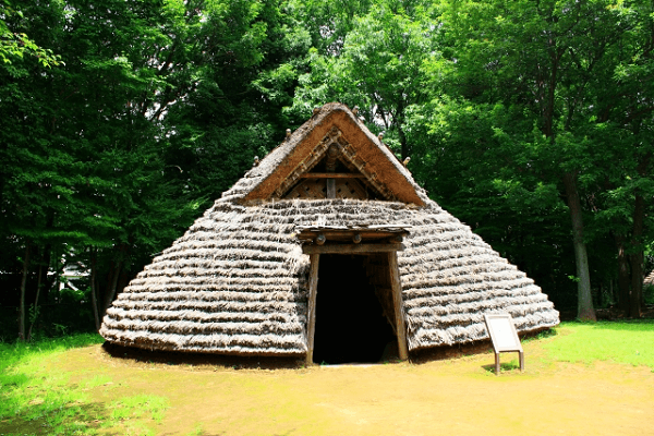 Japanese pit house