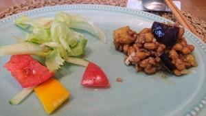肉味噌納豆