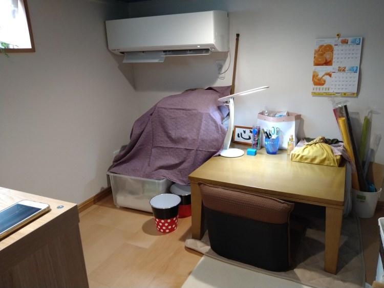 書斎に使っている小屋裏収納