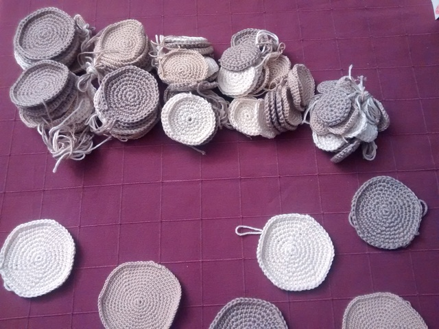 The crochet rounds