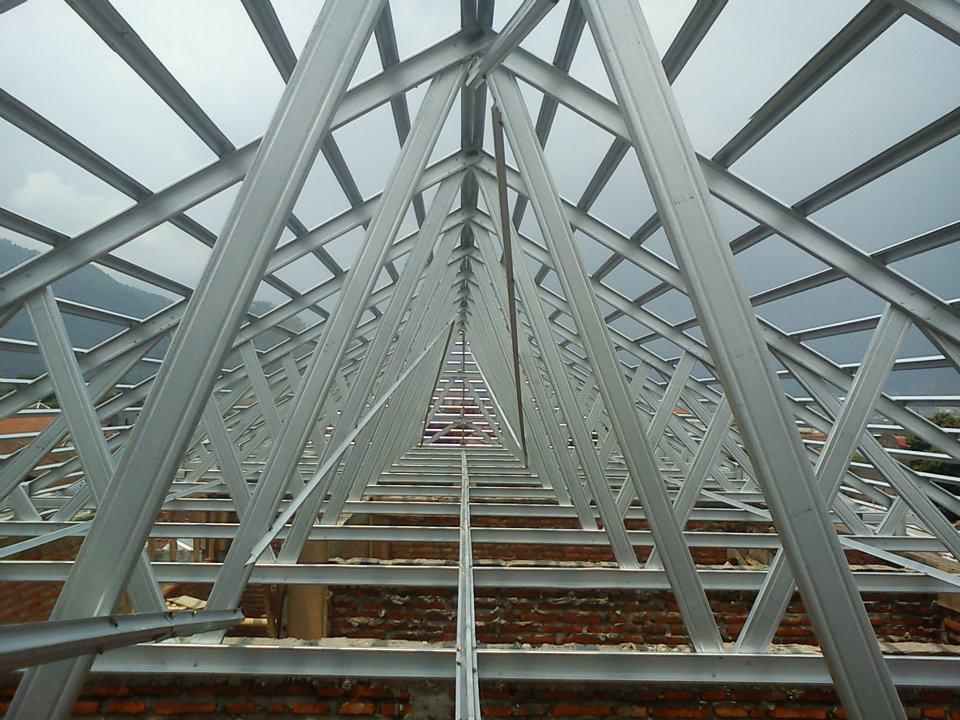 dimensi truss baja ringan metropolitan home decoration: rangka atap