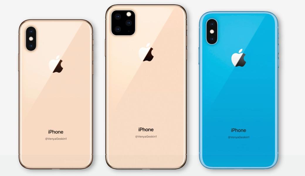 iPhone-XI渲染圖(翻攝自@VenyaGeskin1)
