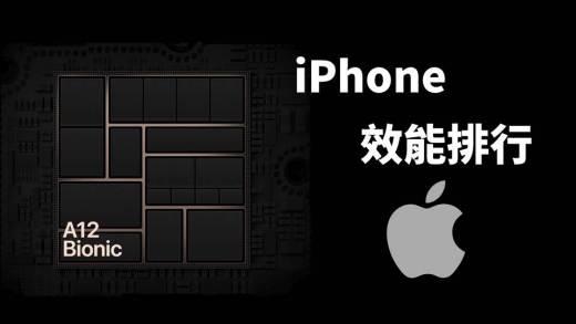 iPhone 效能排行