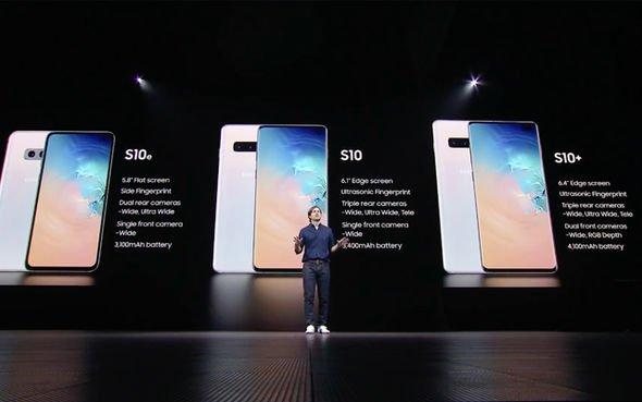 S10系列三種大小
