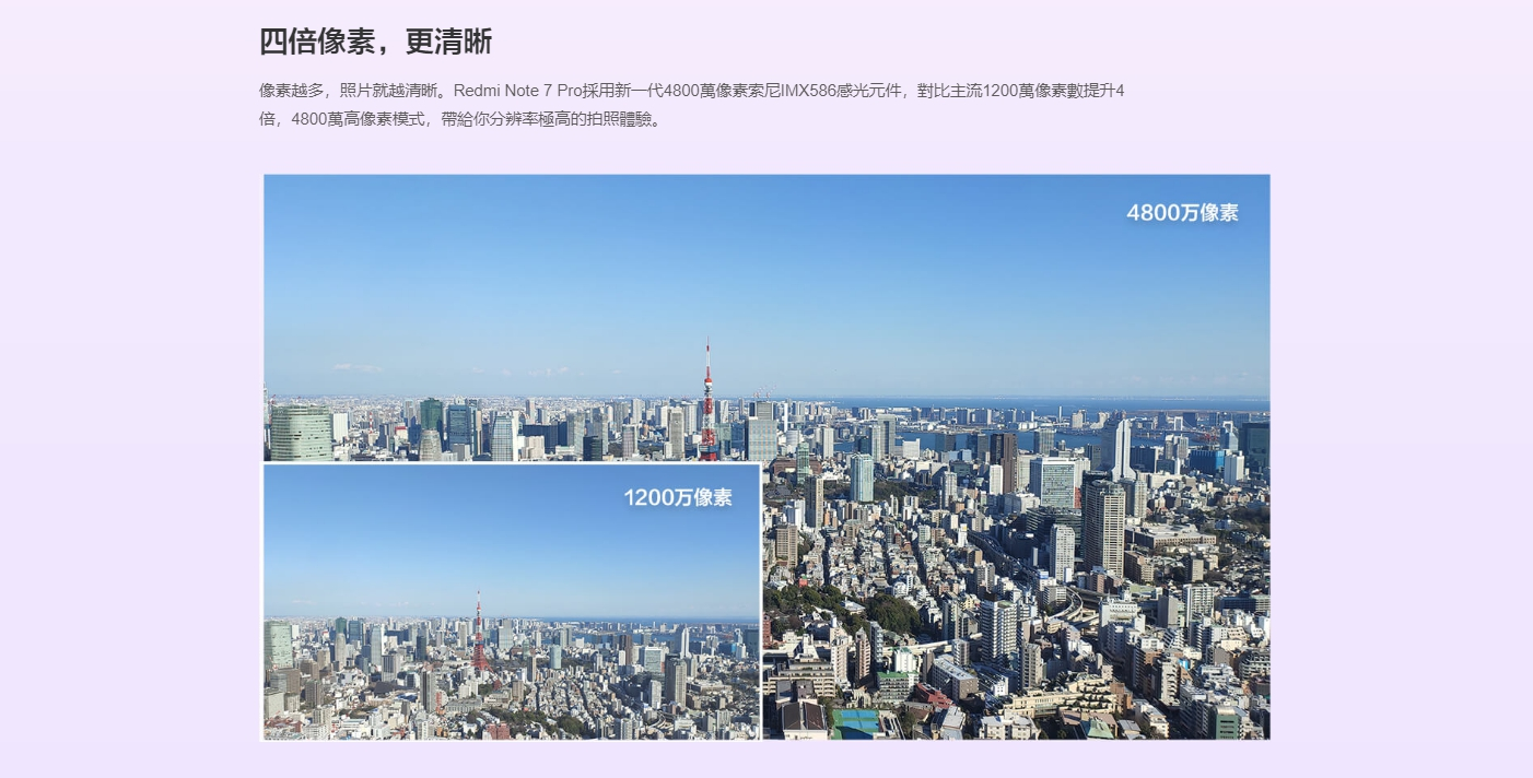 Redmi Note 7 Pro 採用 IMX588感光元件