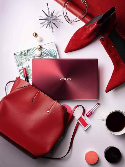 ASUS ZenBook 13勃艮第紅新色