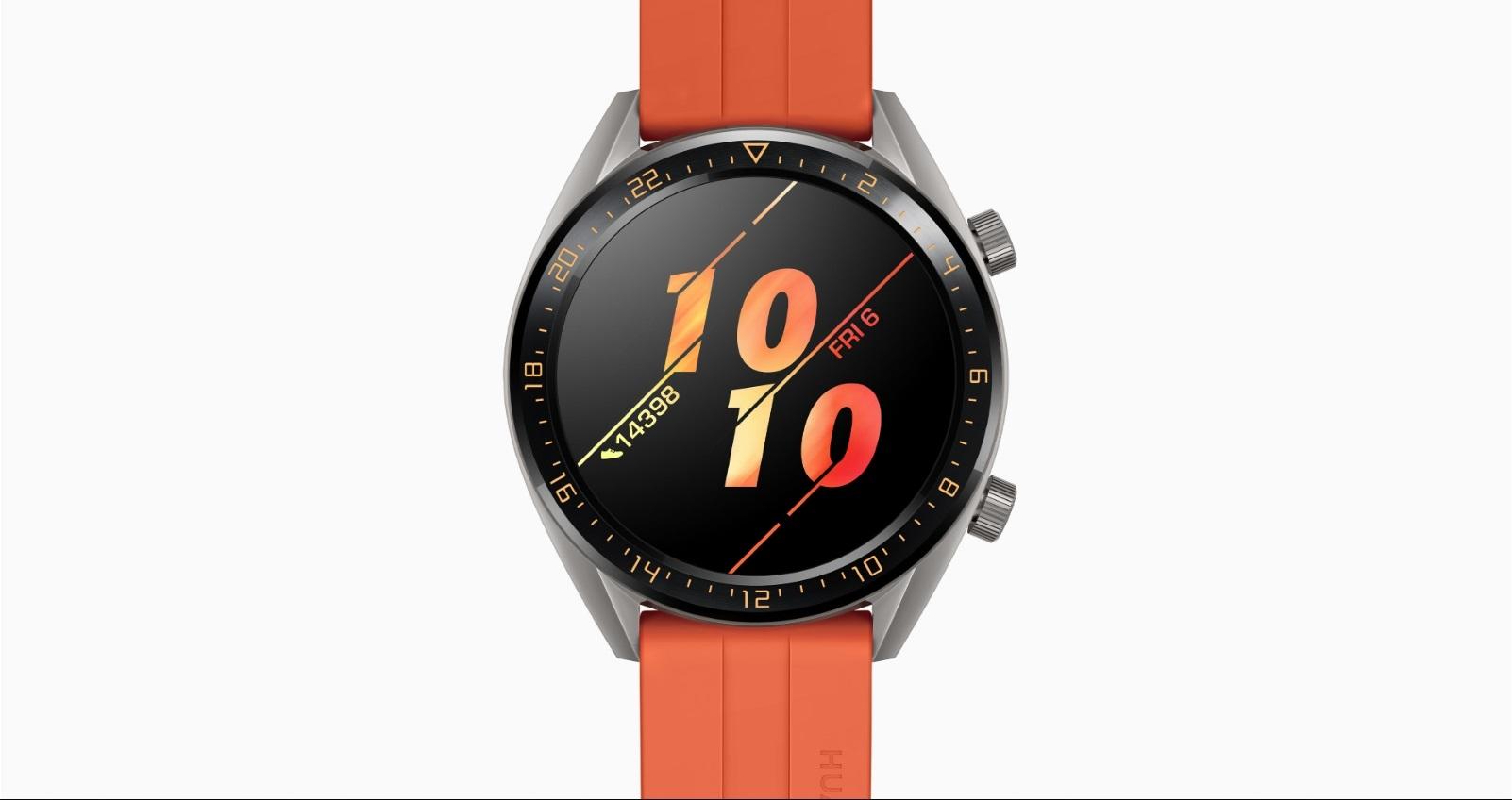 Watch GT 清晰大螢幕,纖薄堅韌