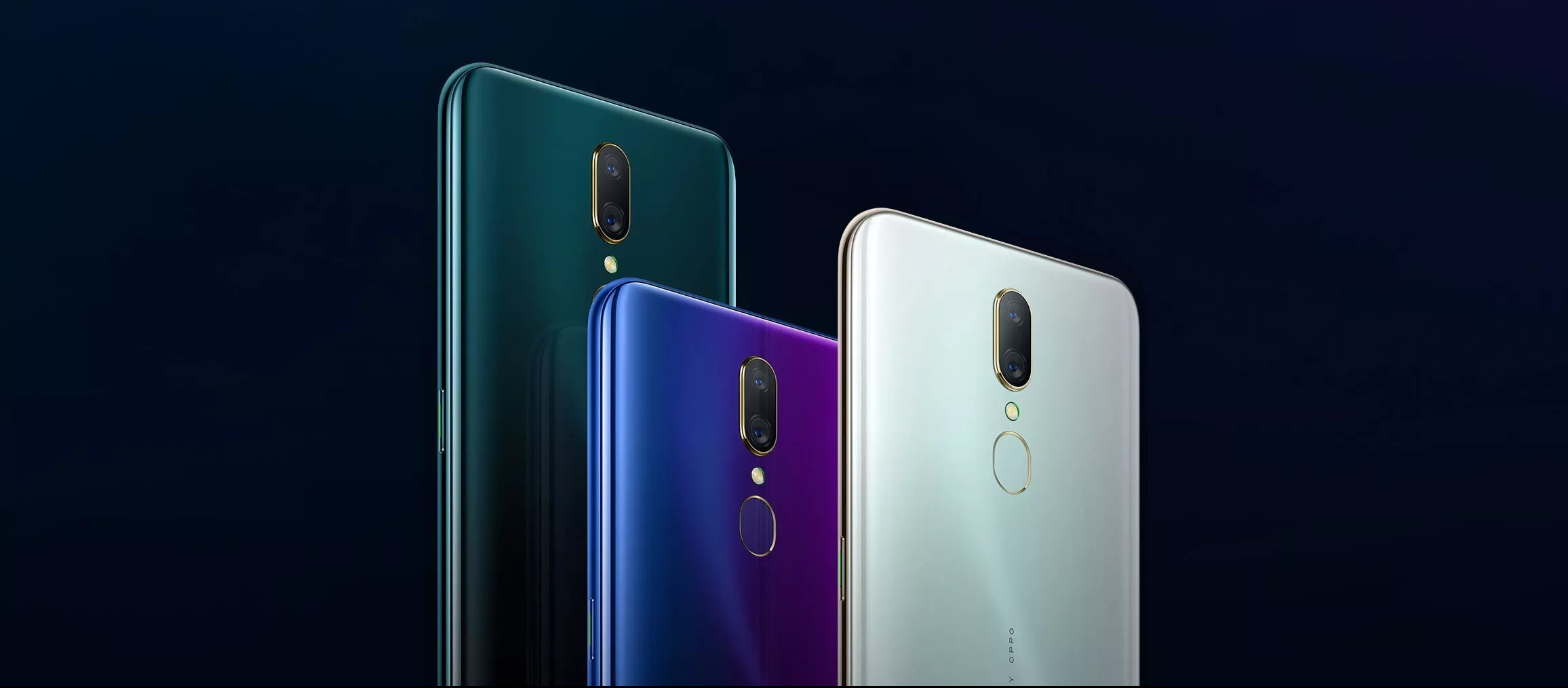 OPPO A9 三種顏色
