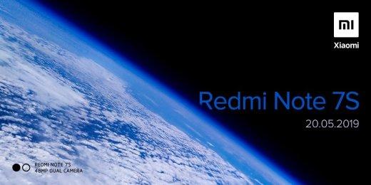 Redmi 紅米 Note 7S 印度 5月20日發表 48MP Dual CAMERA