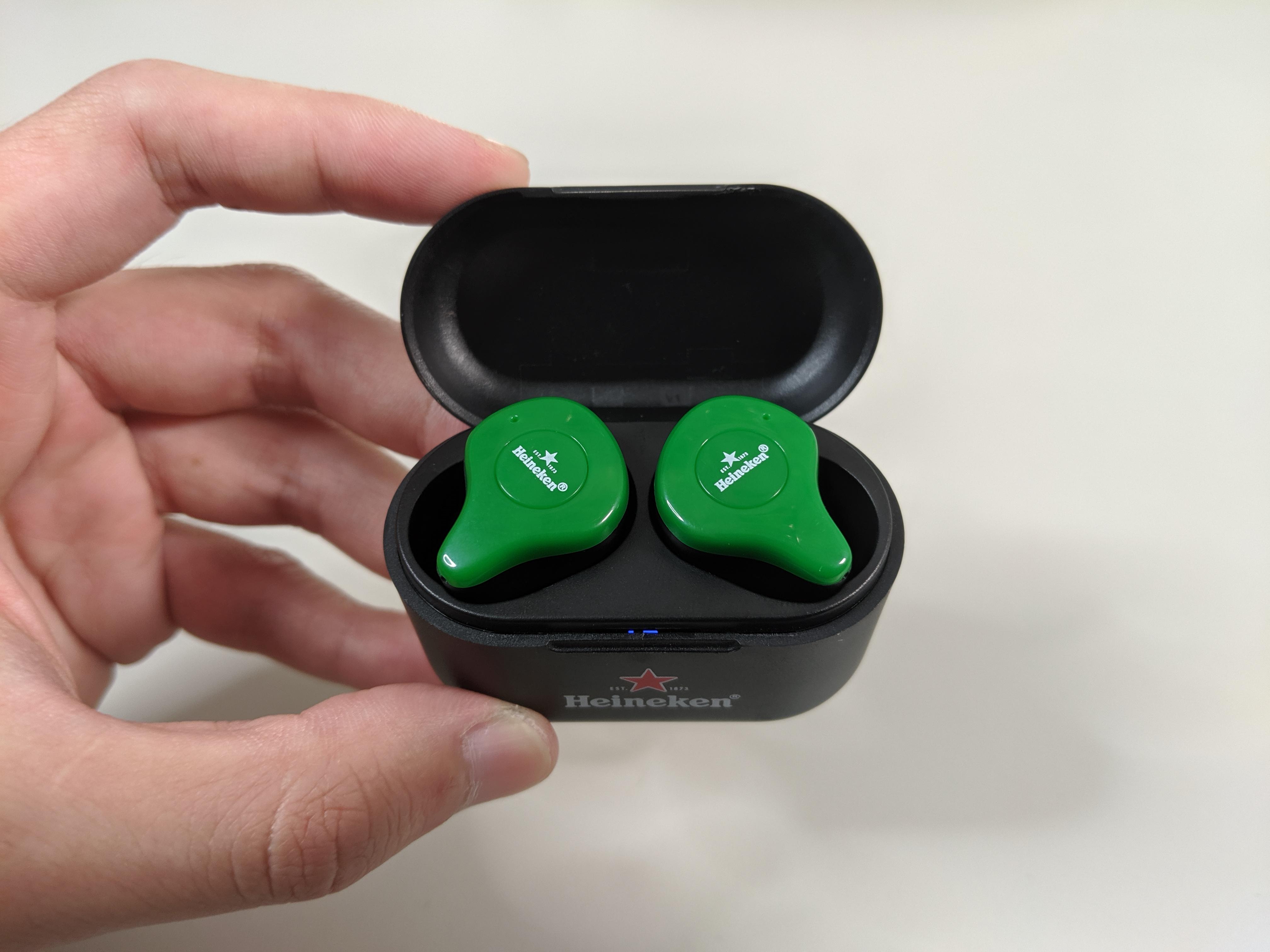 Heineken 海尼根 真無線藍芽耳機 統一超商 限定