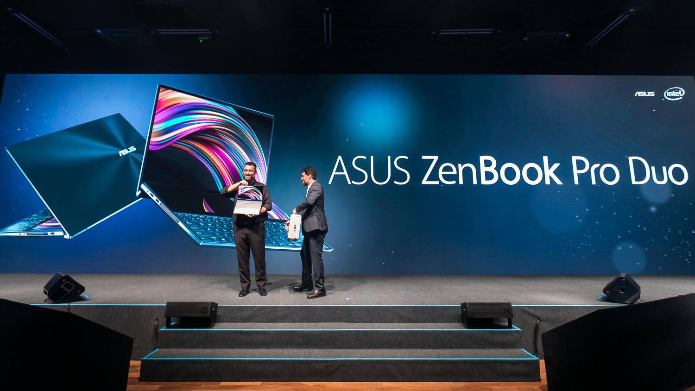ZenBook Pro Duo的首波開賣國家,帶給當地消費者無限驚喜