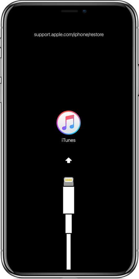 iPhone DFU 過去的圖示