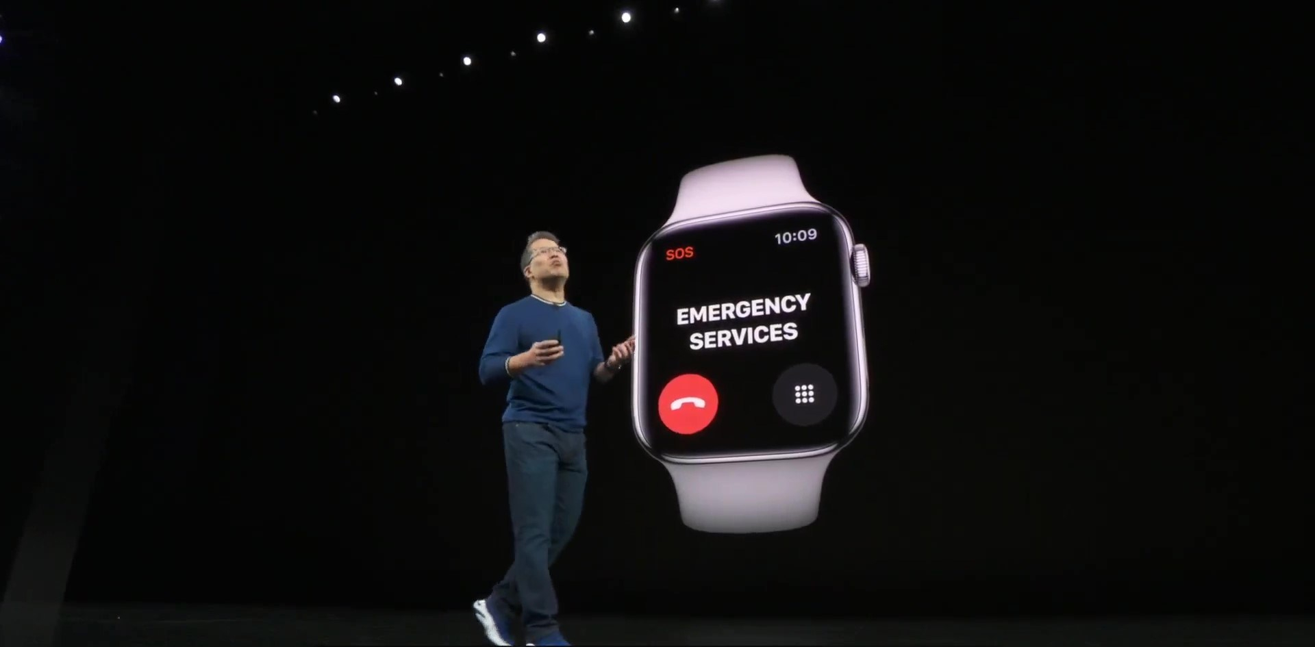 Apple Watch Series 5 支援 各國緊急電話