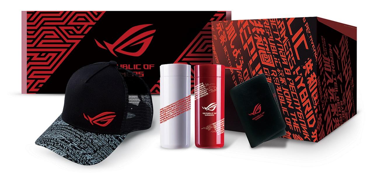 9月30日止,購買ROG Strix G冰河藍潮流新色,限時登錄送ROG潮電競禮盒。