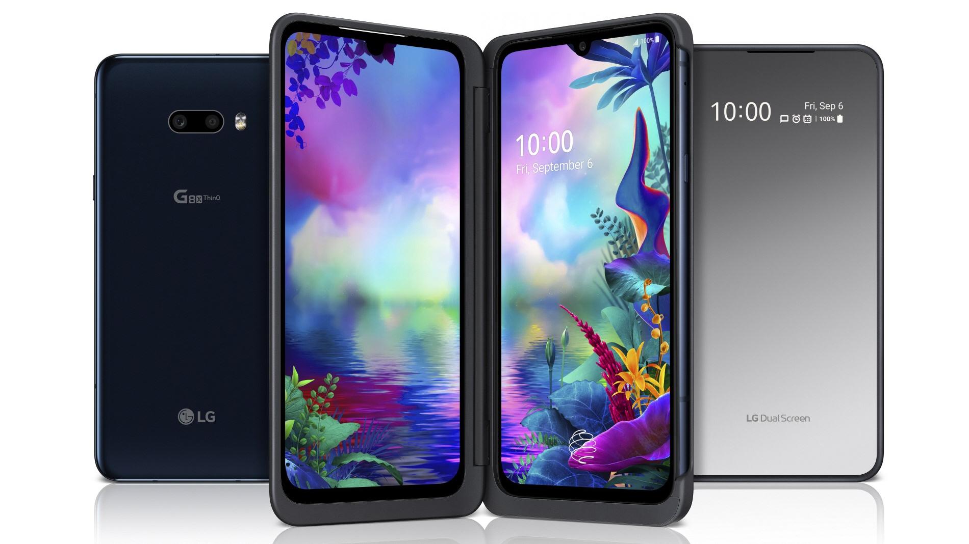 LG G8X ThinQ and LG Dua Screen