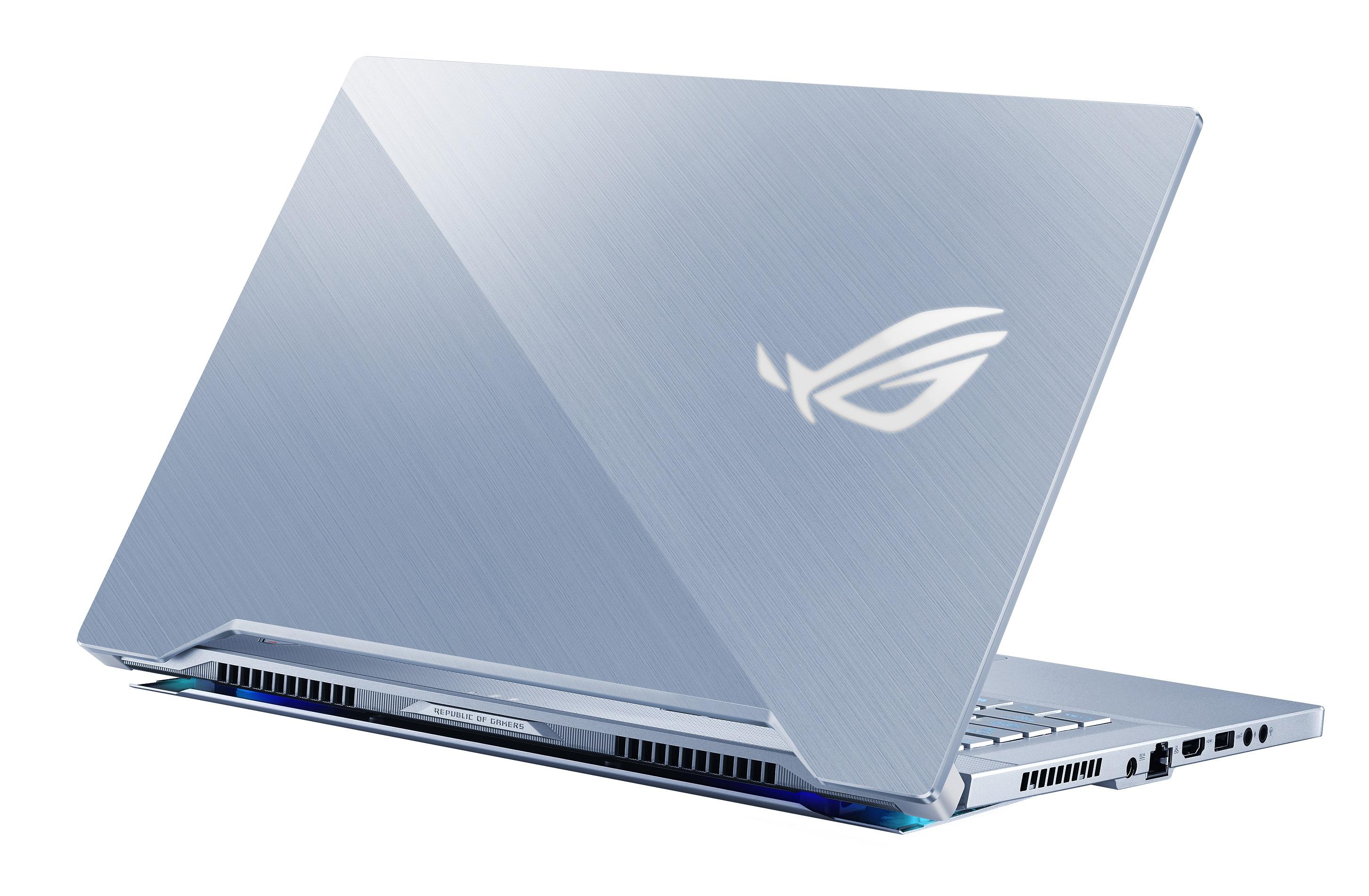 ROG Zephyrus S GX502電競筆電(冰河藍)NT$69,900起。