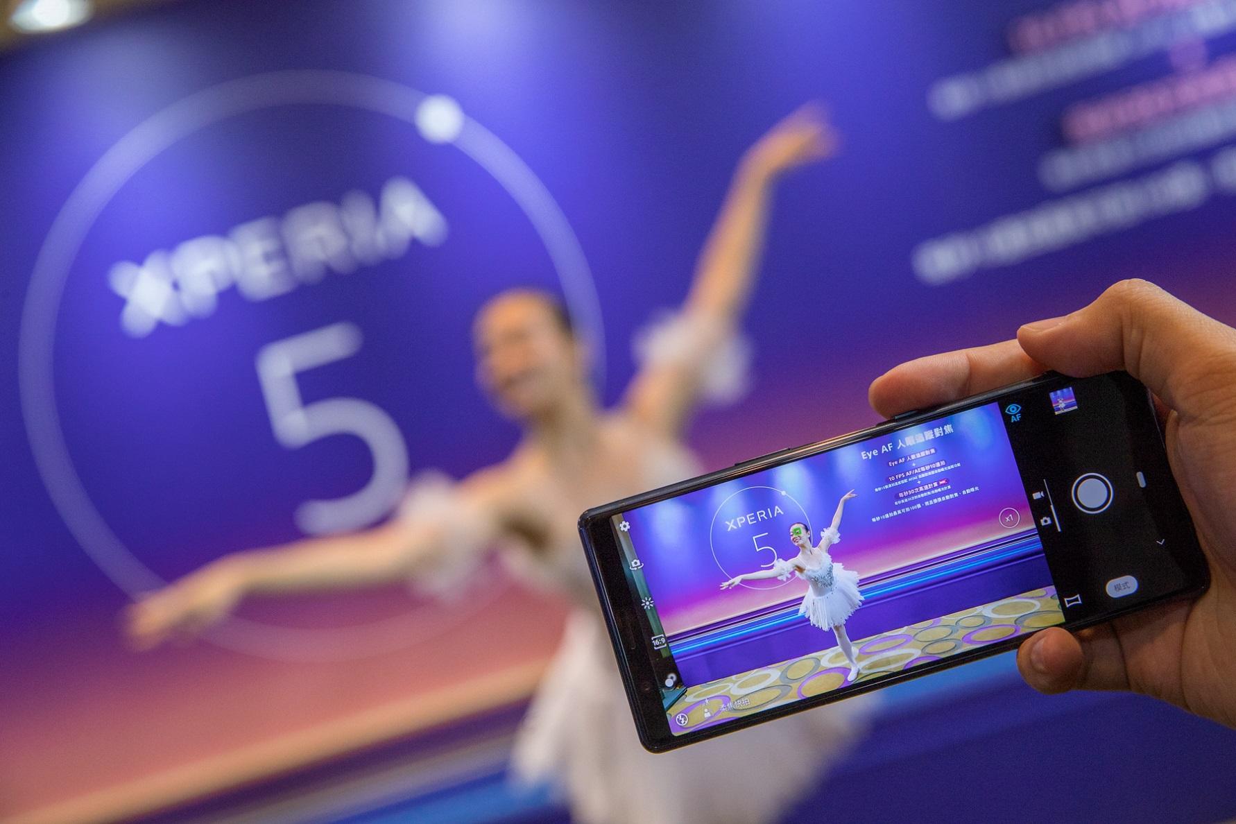 Xperia 1軟體更新,除了專業的人眼追蹤對焦功能,更強化10 fps AF AE能力,每秒高達30次自動對焦與曝光計算。