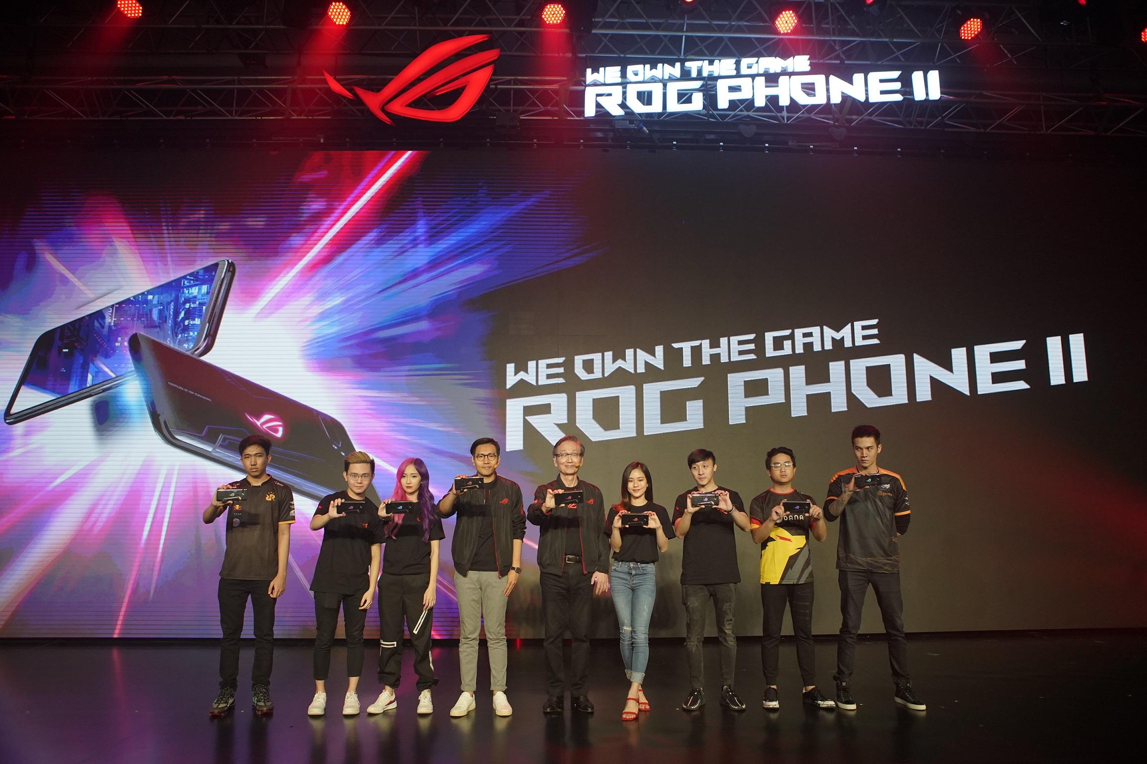 ROG Phone II」以及其一應俱全的專屬擴充配件,將為當地玩家帶來更全方位的遊戲及電競饗宴!