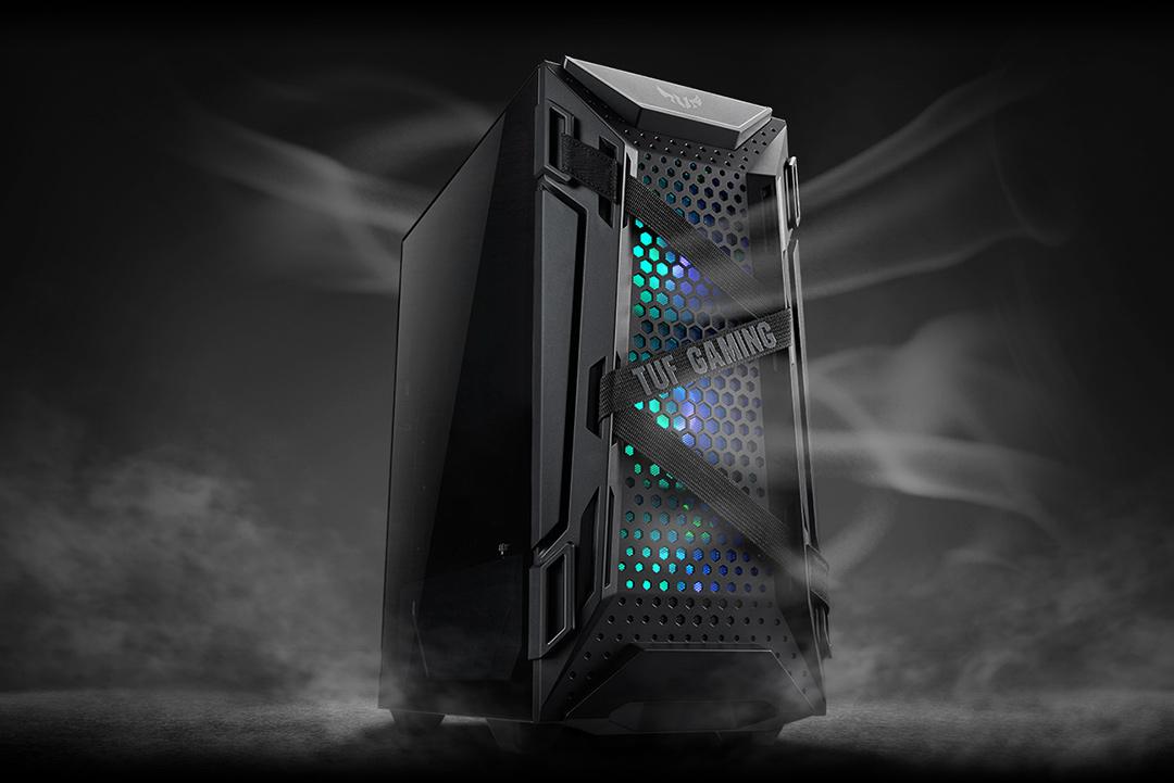ASUS TUF Gaming GT301電競機殼具備超凡卓越的散熱設計,不僅能提高效能,更可減少關鍵配備因過熱造成的損壞,打造絕佳的散熱解決方案。