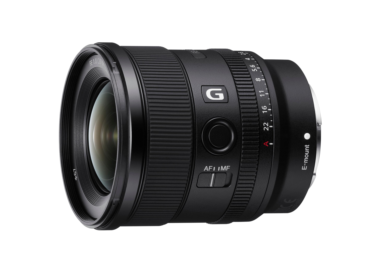 1) Sony FE 20mm F1.8 G 大光圈超廣角定焦鏡頭,具備優異解析度與散景表現,並有高速精準的追焦效能,展現全方位傑出表現。