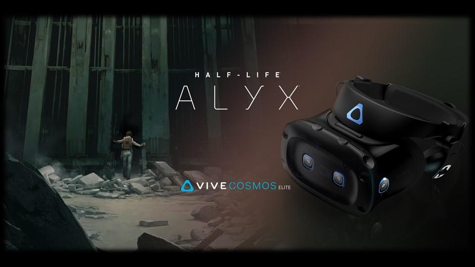 VIVE COSMOS ELITE 結合《戰慄時空》系列VR新作推出