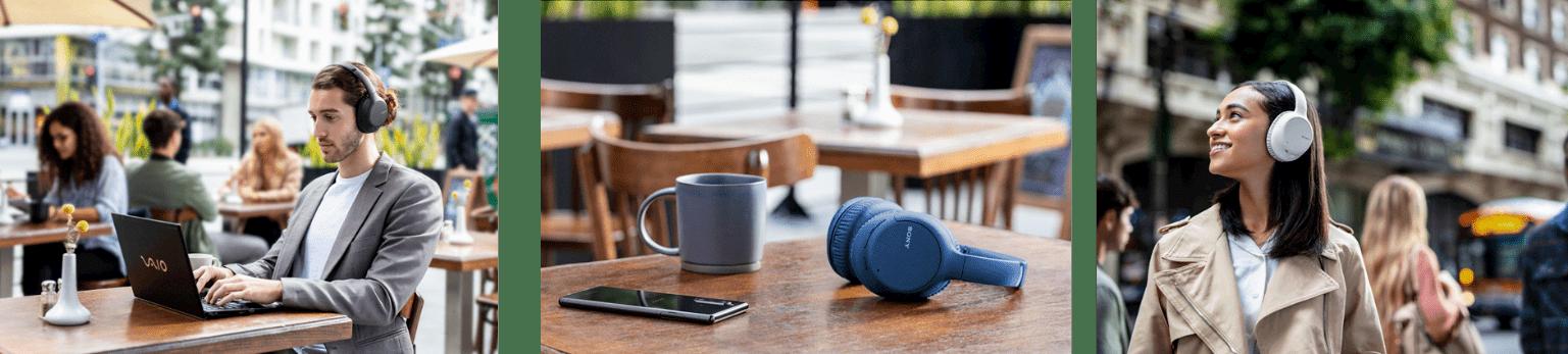 4) WH-CH710N支援35小時超長電池續航力,快充10分鐘可即刻享受聆聽60分鐘;此外,搭載藍牙5.0版本連線更為穩定快速。