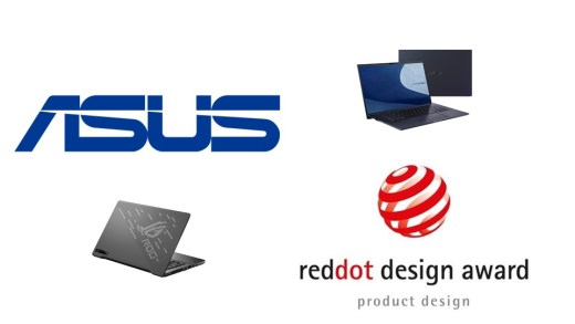 ASUS 華碩獲頒26項2020德國紅點設計大獎