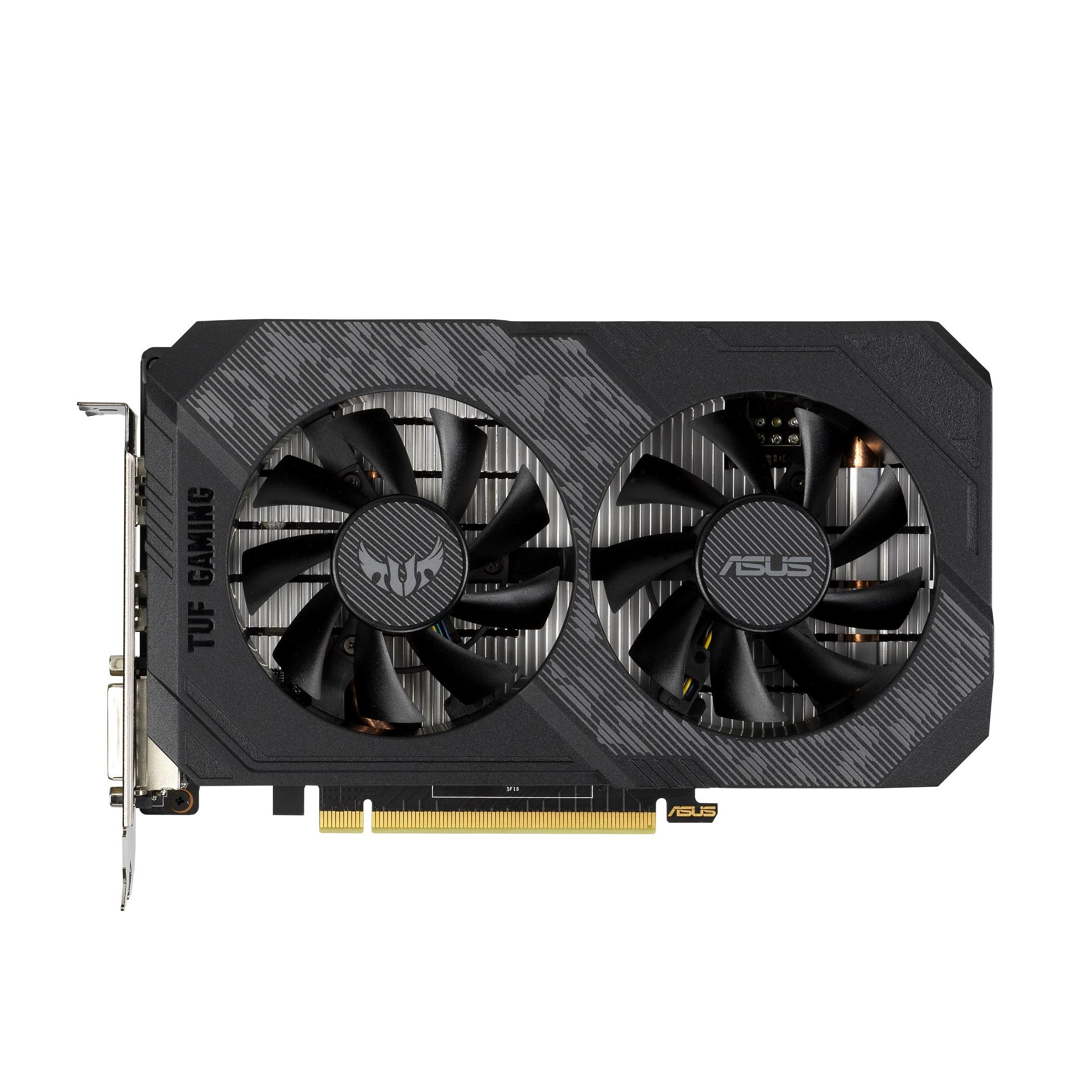 ASUS TUF Gaming GeForce GTX 1650 GDDR6顯示卡通過長達144小時的嚴格效能與壓力測試驗證,以及一系列的3DMark基準測試,能穩定發揮無懈可擊的極致性能。