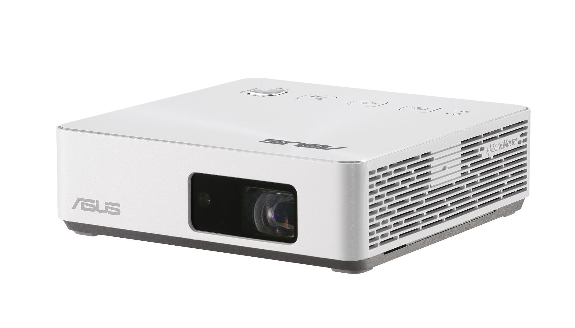 ASUS ZenBeam S2推出珍珠白新色,不論是一公尺內的短焦投影,抑或大螢幕的居家視界需求,皆能盡享劇院級視聽娛樂饗宴。