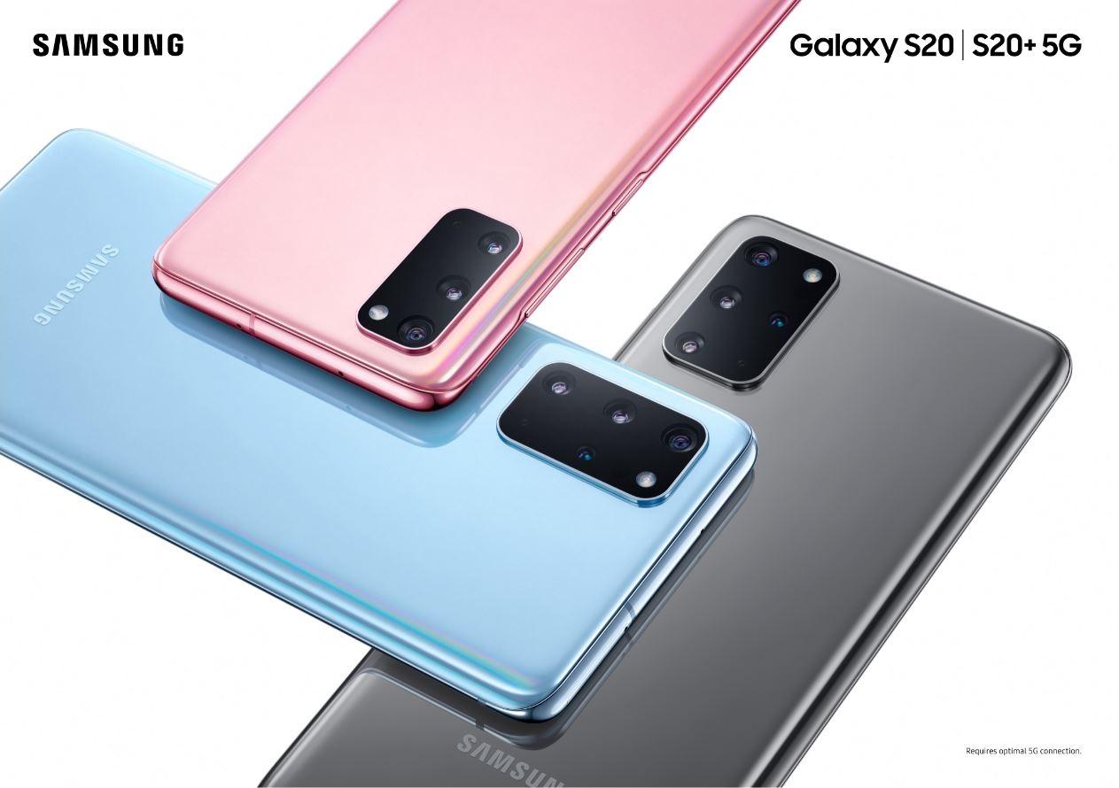 1】Galaxy S20|S20+ 5G讓消費者體驗極速連網生活
