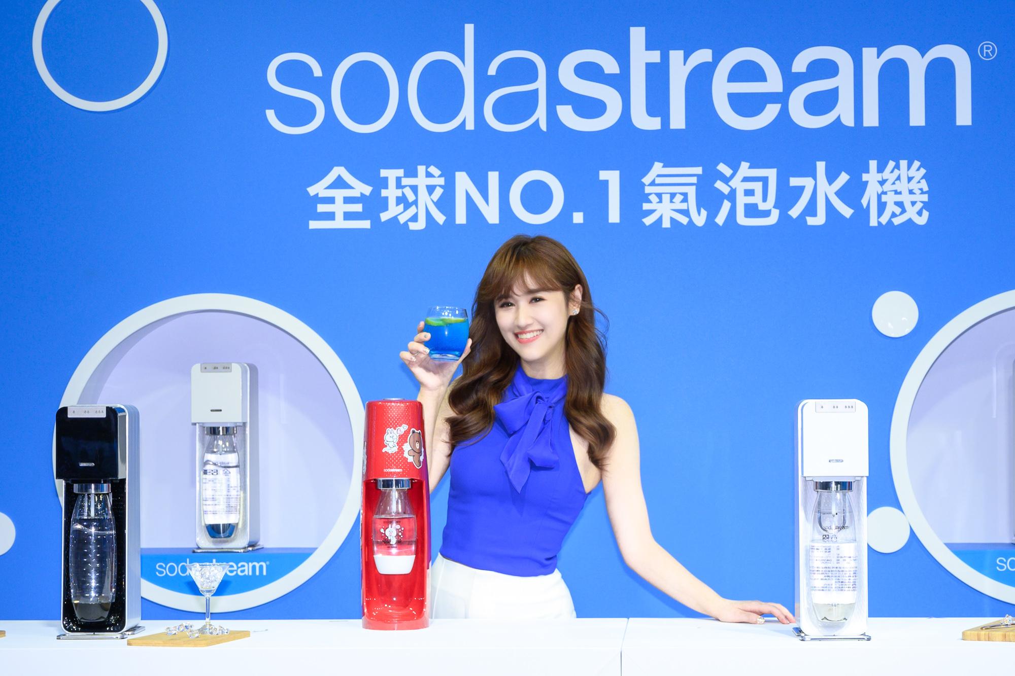 sodastream2020年攜手年度代言人吳姍儒,獨特「不必妥協 氣泡水特調」食譜公開,更獨家分享健康苗條身材離不開sodastream的保養身材之道!