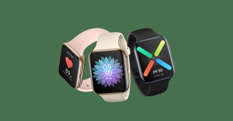 OPPO結合拋光工藝與噴砂工藝推出OPPO Watch 46mm(Wi-Fi)與41mm(Wi-Fi)兩種款式。