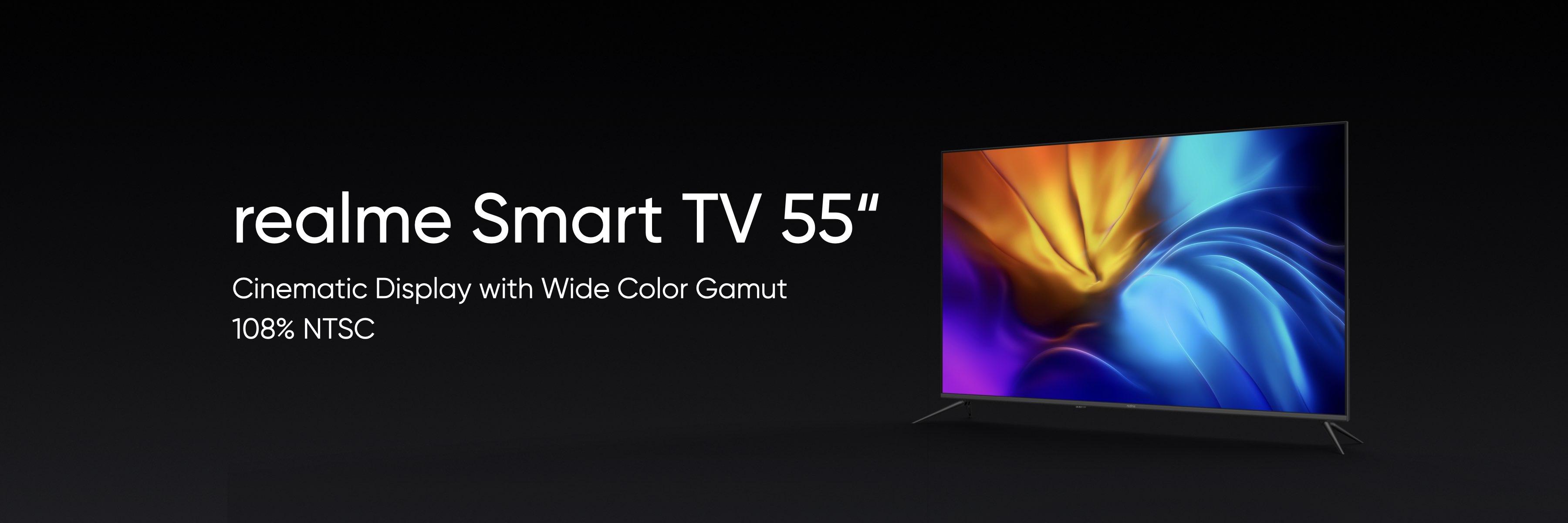 05_realme將於下半年發表首款55吋廣色域中高端電視。