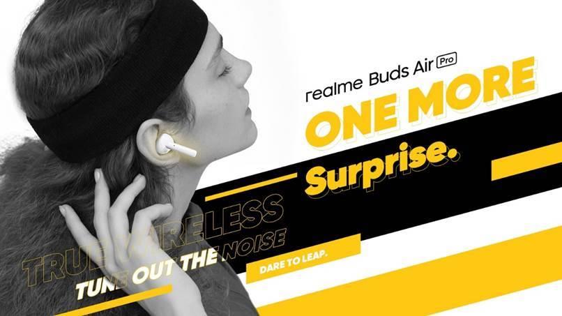 2020年最好入手的主動降噪真無線藍牙耳機realme Buds Air Pro
